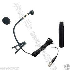 """ CARDIOID "" Instrument condenser recording Microphone For Saxophone Trombone .."
