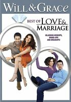 WILL & GRACE: BEST OF LOVE & MARRIAGE- DVD Brand New&Sealed(VG-AM20495DV/VG-394)