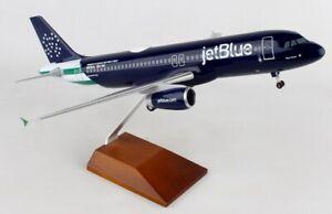 Skymarks SKR8367 Jetblue Airbus A320-2 Blue Finest Desk Top 1/100 Model Airplane
