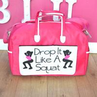 Drop It Like A Squat Gym bag | Workout bag | Fitness | Sport bag | Birthday Gift