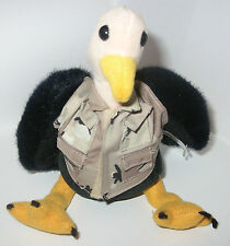 AIR FORCE COLLECTIBLE MILITARY CAMOUFLAGE BUZZARD STUFFED ANIMAL PLUSH CAMO