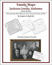 Family Maps Jackson County Alabama Genealogy AL Plat
