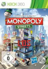 Monopoly Streets (Microsoft XBOX 360, 2010, Dvd-Box) * BUONO *