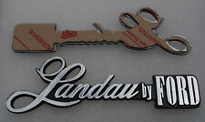 Ford P5 Landau by FORD badge with tape adhesive