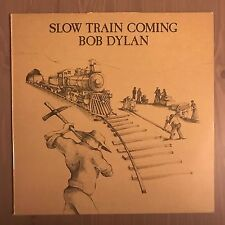 BOB DYLAN Slow Train Coming UK Vinyl LP EXCELLENT CONDITION B