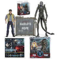 NECA Aliens Hadleys Hope Carter J. Burke VS Xenomorph Warrior Action Figures Toy