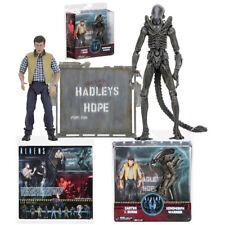 NECA Aliens Hadleys Hope Carter J. Burke VS Xenomorph Warrior Action Figures Toy