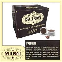 Caffè Delli Paoli 300 capsule miscela cremoso Napoli compatibili Uno System