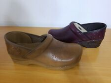 Dansko Embossed Pro - Burnished Calf Women's Clogs - NEW - Choose Size & Color