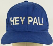 Hey Pal! Blue Embroidered Baseball Hat Cap with Snapback Strap Adjust