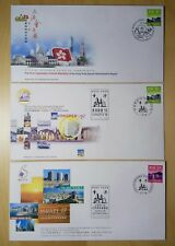 Hong Kong 1998 Stamp Expo & Legislative Council Souvenir x3 FDC香港参与邮展及立法会正式纪念封3个