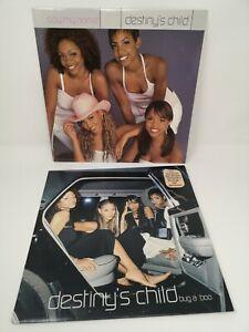 Pair Destiny's Child Vinyl Say My Name Bug a Boo