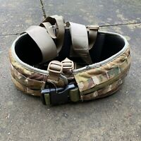 UK BRITISH ARMY SURPLUS ISSUE OSPREY MTP MOLLE PADDED BELT PLATFORM WEBBING KIT,