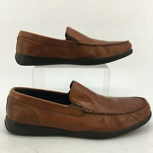 Cole Haan Lovell Two-Gore Loafers Men 10.5 M Brown Leather Casual Slip On C26042