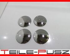 4xOriginal Fiat 500 500C RIVA Felgendeckel Radkappe Set Chrom Wheel Caps