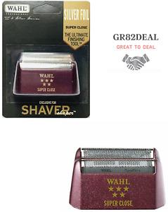 Wahl #7031-400 5 Star Series Shaver/Shaper Replacement Foil Super Close Silver