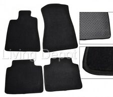 Fit For 2006-2011 Lexus GS300 GS350 Floor Mats Carpet Front Rear Nylon Black
