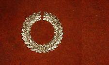 Uniface Gold painted Roman legion standard part victory laurel wreath cold cast