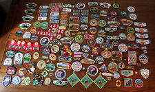 287 Boy / Cub Scout Badges Patches Pins Colorado Chapter Huge Lot Collection