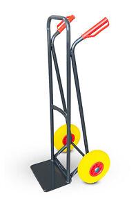 Sackkarre Transportkarre Stapelkarre 150 kg Stahl Vollgummi Transportwagen