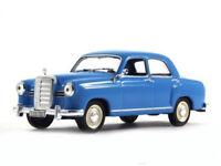 Mercedes-Benz Ponton Blue Luxury Sedan 1953 Year 1:43 Scale Diecast Model Car