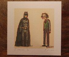 Scott C Campbell The Dark Knight Batman Art Print Showdown Showdowns Mondo Moss