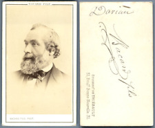 Dorian? à identifier vintage carte de visite, CDV  CDV, tirage albuminé, 6 x 1