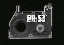 1x DYMO D2 Refill 19mm x 20m Farbband 60601 BLACK Schwarz > 6000, 9000, nachgef