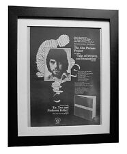 ALAN PARSONS PROJECT+Mystery+POSTER+AD+ORIGINAL 1976+FRAMED+FAST GLOBAL SHIP