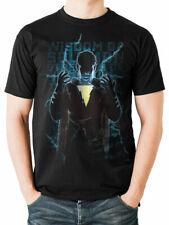 Shazam Heroic Poster Official Captain Marvel DC Comics Black Mens T-shirt