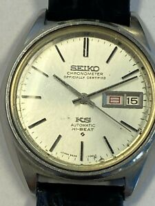 Vintage King Seiko Automatic Watch 5626 7060 KS. No reserve!