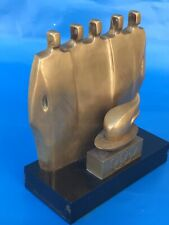 Art Deco Le Faguays Olympic Games Sculpture Solid Bronze