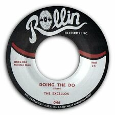 "THE EXCELLOS - ""Doing The Do"" B/W ""Baron Samedi"" TOP R&B ROCKABILLY - HEAR BOTH"