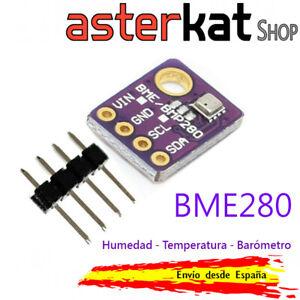BME280 Sensor Humedad Temperatura y Presión Atmosférica Barómetro 5V arduino