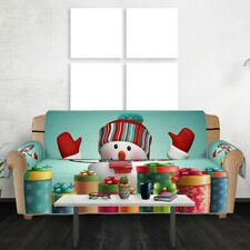 Xmas Sofa Couch Cover Pet Dog Kids Mat Furniture Protector Slipcovers Home Decor