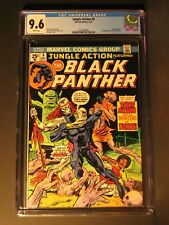 Jungle Action  #9  CGC 9.6 5/74  Black Panther! WHITE Pages! 1st Baron Macabre!