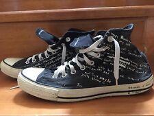 Kurt Cobain Lyrics shoes men Size 8.5 Sneaker Nirvana Vintage 90s Rare