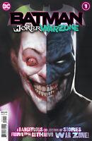 Batman the Joker War Zone #1 1st Appearance Henchmaster DC comic NM Print 2020