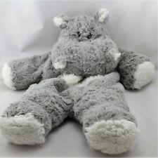 Doudou range pyjama hippopotame gris blanc ETAM - Hippopotame Range pyjama