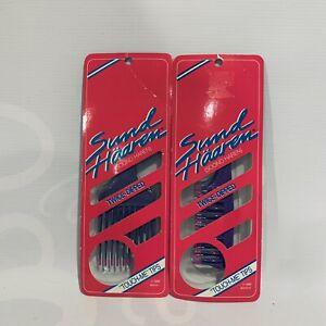Sund Haaren Comb & Pick Twice Dipped Tips Vintage 80's Salon Hair NOS