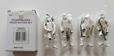 Star Wars Stormtrooper Trooper Builder Set Mailer Saga Exclusive Hasbro 1999 MIB
