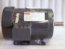 Dayton 4LX04 3 Ph Auger Motor 1 HP 1140 RPM 208-230/460 V Rot cw/ccw         (G)