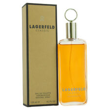 LAGERFELD CLASSIC MAN COLOGNE 4.2 OZ / 125 ML EDT SPRAY * NEW IN BOX SEALED *
