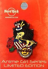 Hard Rock Cafe Yankee Stadium Anime Girl Series Pin HRC LE NEW pin # 91647