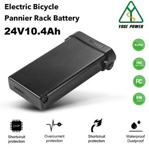 24V10.4Ah Electric Bicycle Lithium-ion Rear E-bike Battery for MIFA, Prophete