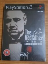 SEALED!! PLAYSTATION 2, THE GODFATHER, TIN COLLECTORS EDITION, (PS2)
