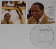 Milt Jackson - The Prophet Speaks - U.S. promo cd  Gold DJ Stamp