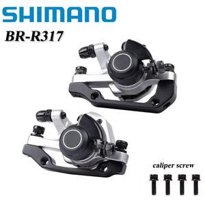 Shimano BR-R317 Bike Mechanical Disc Brakes Caliper Front & Rear Calipers M375