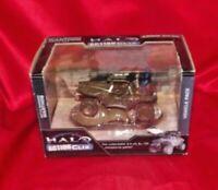 HALO ACTION CLIX  BATTLE DAMAGED WARTHOG  with Blue Spartan Die cast Toy, 1/32
