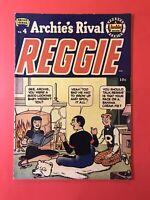 ARCHIE'S RIVAL REGGIE #4 Suitable Suit: Archie's 1912 swimsuit! Golden Age 1951